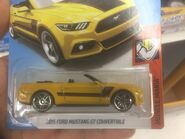 2015 Ford Mustang GT Convertible FJX74