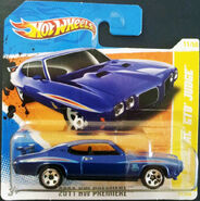 HW-2011 '70 Pontiac GTO Judge