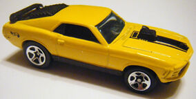 Mustang Mach I - 98 FE Yellow