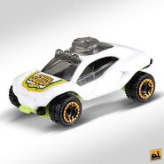 2019 Hot Wheels Dune Daddy 2nd colour