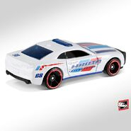 2019 Hot Wheels '10 Camaro SS back