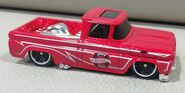 HW CUSTOM 62 CHEVY Hot trucks RED