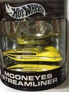 2003 Showcase - Racing - Mooneyes Streamliner -Mooneyes- Yellow