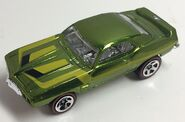 69 Firebird TA. Hot Wheels Classics. Spectraflame Green. Eaglevue