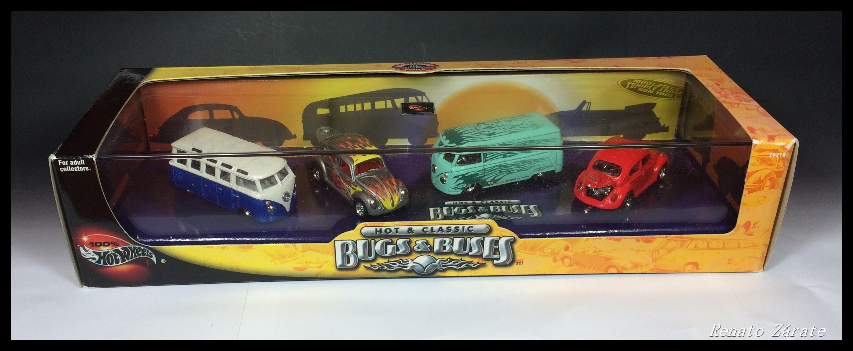 Hot Classic Bugs Buses 4 Car Set Hot Wheels Wiki Fandom