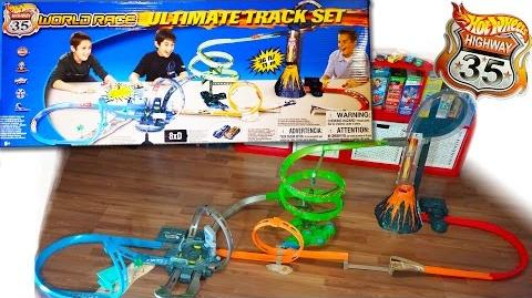 Hot Wheels Highway 35 World Race Ultimate Track Set - Kid Toys Are Fun
