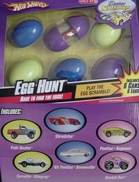 2008 Egg Hunt Easter Speedsters 6-Pk