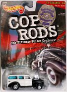 Cop Rods '40's Woodie Card - 07276cf