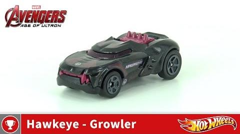 Hot Wheels - Marvel Avengers Age of Ultron - Hawkeye - Growler (4K UHD)