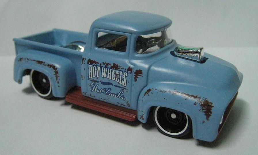 Image Custom 56 Ford Truck Kmart Loose Jpg Hot Wheels Wiki