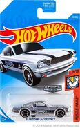 2019 Hot Wheels '65 Mustang 2+2 Fastback Zamac