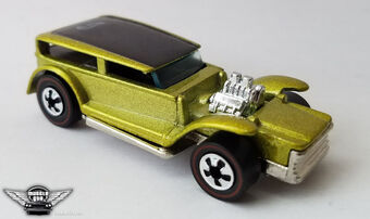 Hot Wheels 25th Anniversary Collection The Demon Goldish Yellow