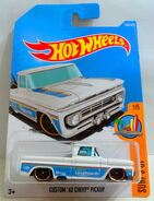 Cust 62 Chevy Pickup (Whi) Surfs U 1 - 17 Cx