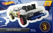 Mystery Model series 3 - 11 of 12 Cruise Bruiser - Sticker
