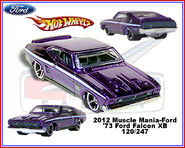 2012 Muscle Mania-Ford Ford Falcon XB 120-247