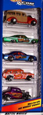 Hot Wheels.com 5-Pack - 6665cf