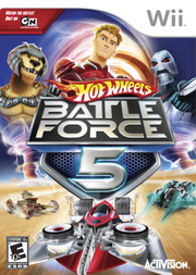 Hot Wheels Battle Force 5 cover
