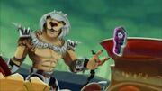 Negative Kalus given Battle Key by Battle Force 5