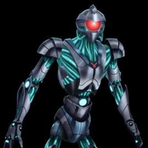 Humanoid Blue Zurk