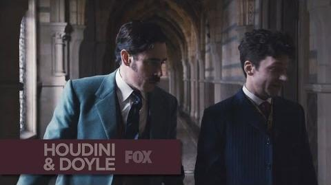 "HOUDINI & DOYLE - Time Is Of The Essence from ""The Maggie's Redress"" - FOX BROADCASTING"