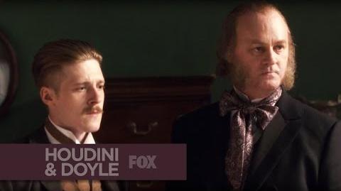 "HOUDINI & DOYLE - Tiny Terrorist from ""A Dish of Adharma"" - FOX BROADCASTING"
