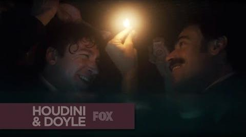 "HOUDINI & DOYLE - A Watery Grave from ""The Maggie's Redress"" - FOX BROADCASTING"