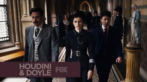 HOUDINI & DOYLE - Meet The Trio - FOX BROADCASTING