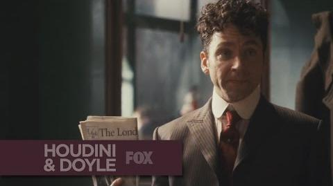 "HOUDINI & DOYLE - A Supernatural Case from ""The Maggie's Redress"" - FOX BROADCASTING"