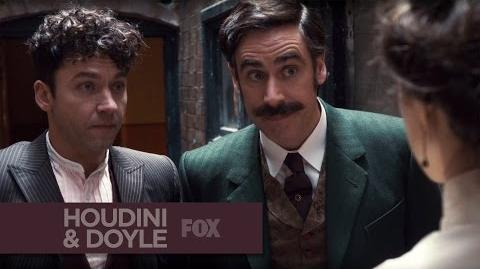 "HOUDINI & DOYLE - Interrogation from ""A Dish of Adharma"" - FOX BROADCASTING"