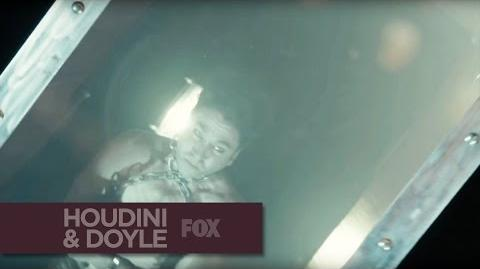 "HOUDINI & DOYLE - The Great Escape from ""The Maggie's Redress"" - FOX BROADCASTING"