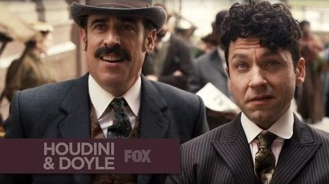 HOUDINI & DOYLE - First Look - FOX BROADCASTING