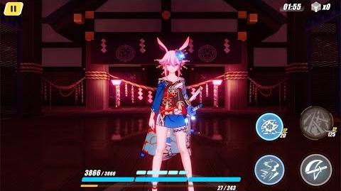 Honkai Impact 3rd - Sakura Beauties of Nature outfit ( 4th wall easter egg)