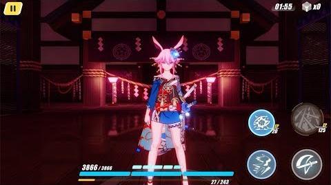 Honkai Impact 3rd - Sakura Beauties of Nature outfit ( 4th wall easter egg)