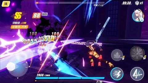 Honkai Impact 3rd post-1.6 - White Comet and Crimson Impulse gameplay
