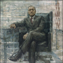 Frank Underwood official portrait
