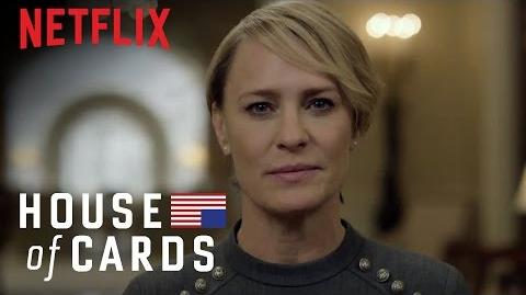House of Cards A Message From the Underwood Administration Netflix