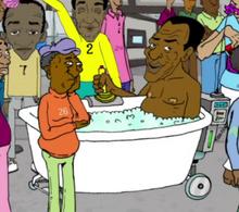 Bathtub Cosby Bathmobile
