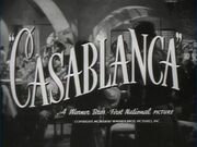 Casablanca, title