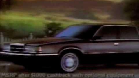 Dodge Dynasty commercial - 1991