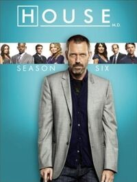 House Season 6 DVD Cover