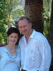 GeorgeMason and Sarah Clarke