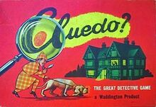 Cluedo 1956 Small Red Box Edition
