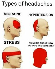 Types of headaches-meme