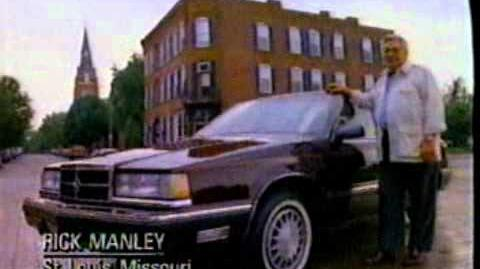 Dodge Dynasty commercial (1990)