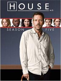 House Season 5 DVD Cover