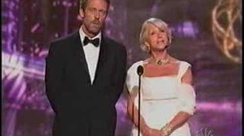 Hugh Laurie at the 2006 Emmys