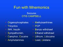 Fun+with+Mnemonics+Seizures+OTIS+CAMPBELL