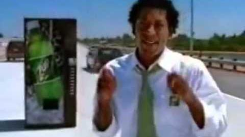 7UP - Orlando Jones Ad Campaign