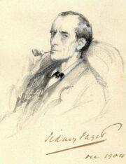 Sherlock Holmes Portrait Paget