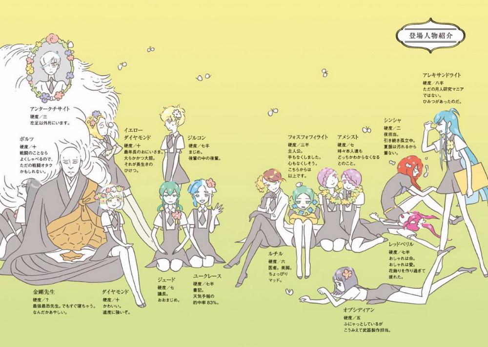 Gems | Houseki no Kuni Wiki | FANDOM powered by Wikia